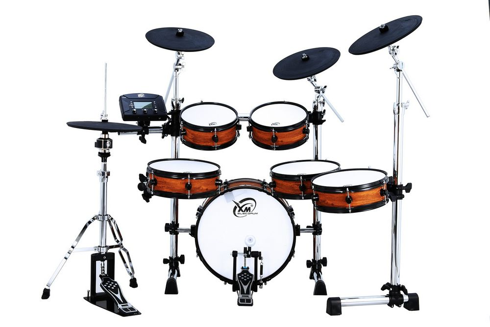 Entry level electric drum set